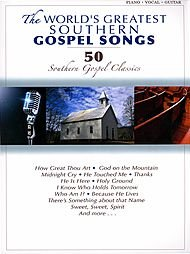 Hal Leonard The World's Greatest Southern Gospel Songs (Piano/Vocal/Guitar)