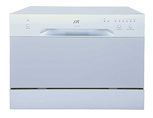 SPT SD 2213S Countertop Dishwasher Silver