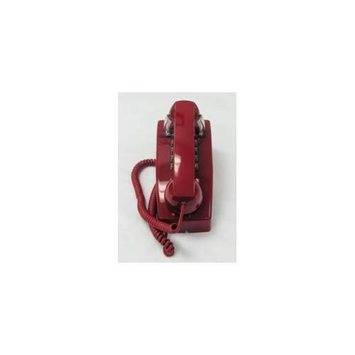 (Cortelco ITT-2554-MD-RD 255447-VBA-20MD Wall ValueLine RED)