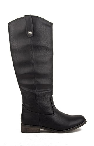 Breckelles Rider-18 Womens Classic Knee High Riding Boots