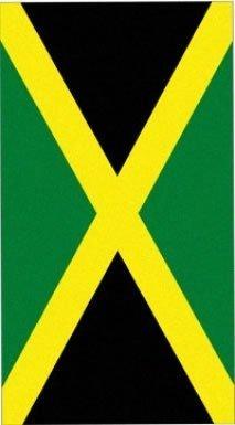 Jamaica Flag Beach Towel (Jamaican Beach Towel)