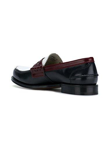 EDB0039ADLVXE Leather Church's Loafers Men's Blue aqgPpY5