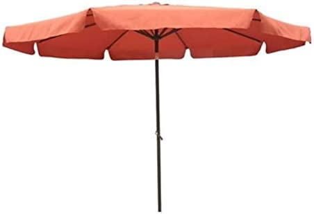 International Caravan Furniture Piece Outdoor 10 Foot Aluminum Umbrella