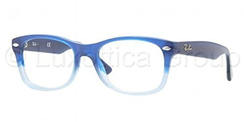 Ray Ban Junior RY1528 Eyeglasses-3581 Opal Blue Faded Opal - Spot Frames