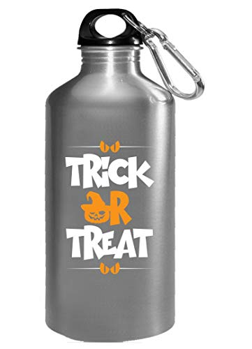 Trick or treat Halloween funny pumpkin Gift - Water Bottle ()