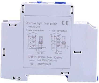 Interruptor de Temporizador de luz-AC 220-240V Escalera mecánica ...