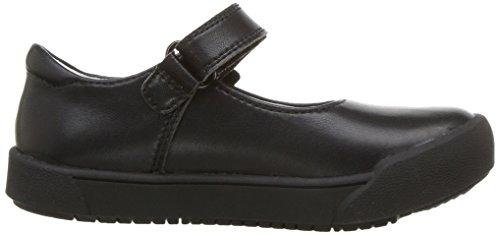 Uniform pediped Barbara Flex Shoe School Black Girls' xwCq8ICHOB