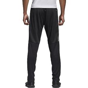 adidas Mens Tiro17 TRG Pant, Black/Silver, X-Large