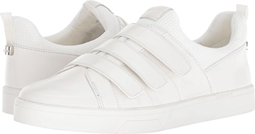 Womens Velcro Sneakers - Calvin Klein Women's Irah Sneaker, White, 7.5 Medium US