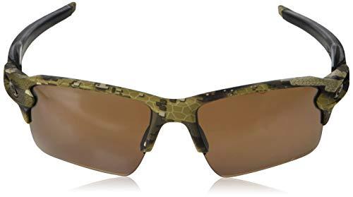 4833796ee1 Oakley Men s Flak 2.0 XL Polarized Iridium Rectangular Sunglasses ...