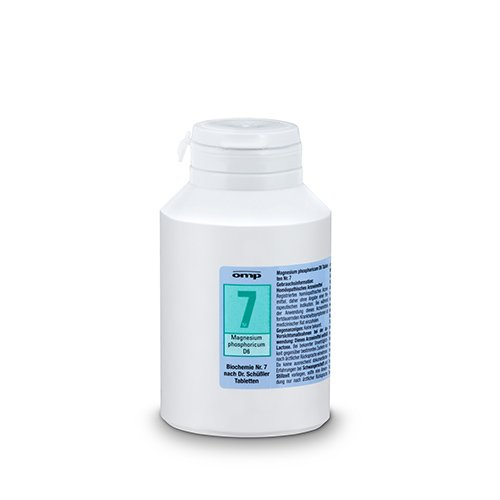 Schuessler Salz Nr. 7 Magnesium phosphoricum D6 - 1000 Tabletten, glutenfrei