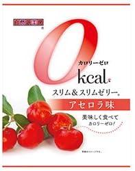 富士正食品 スリム&スリムゼリー カロリーゼロ アセロラ味 22g×7個×20袋入