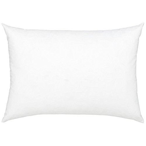 Stuffer Throw Pillow Insert Sham Form Polyester Rectangular Oblong White 7 X 11 - Shape Rectangular What Is A