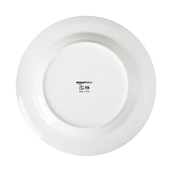 31 L9uMSpmL Amazon Basics - 8-teiliges Kochgeschirr mit Antihaftbeschichtung & Café Geschirrservice mit schwarzem Rand, 16-teilig…