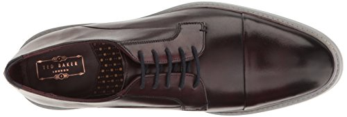 Ted Baker Mens Aokii 2 Lthr Am Loafer Rosso Scuro