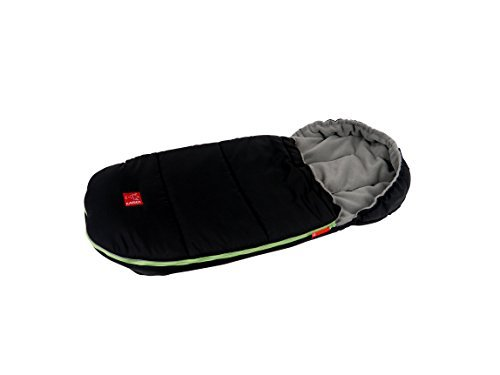 Kaiser Louis Thermo Fleece Footmuff (Black) by Kaiser