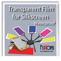 19 Printing (Waterproof Transparent Film For Silk Screen 13