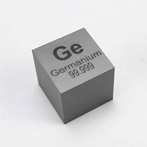 10mm Germanium Metal Cube 99.999% 5.3grams Element Ge sample