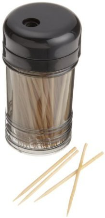 Dispenser Plastic Toothpick (Bonny Bar Toothpicks with Dispenser)
