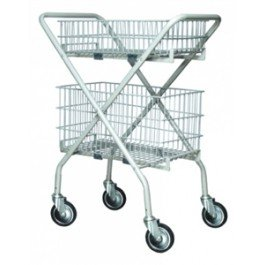 Lumex Versacart Folding Utility Cart - 1 each - 7010A - Versacart Only by Lumex