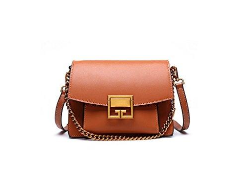 Hecho 4 Gran y Bloqueo Genuino viaje bolsos Sucastle Mujer Mano Ideal a trabajo Cuero Genuina 4 para hombro RFID de Capacidad wzHPTxBTq