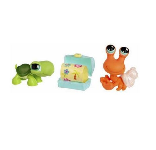 Littlest Pet Shop Hermit Crab - Littlest Pet Shop Pet Pairs: Turtle & Hermit Crab