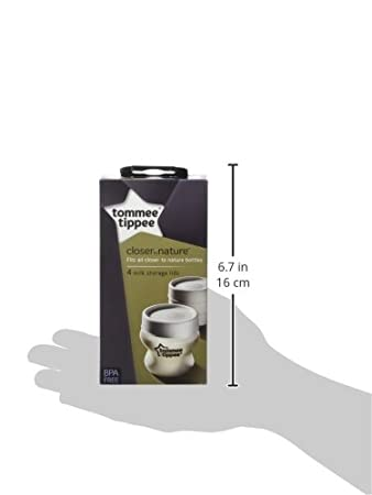 Tommee Tippee Couvercle Biberon X 4