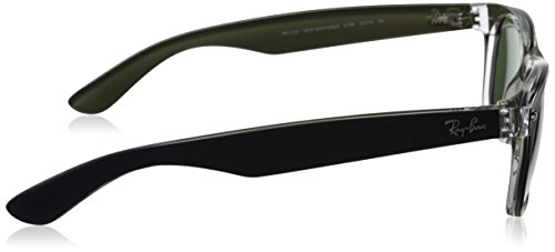 hombre Ban And Multicolor Gafas de New para Blue Transparent sol Ray Wayfarer 6188 v0qwUxdqS