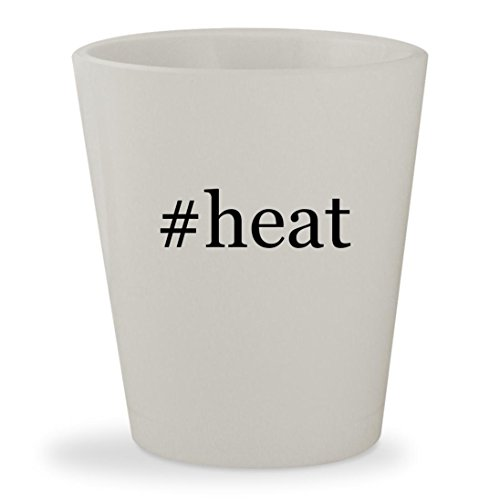 Price comparison product image #heat - White Hashtag Ceramic 1.5oz Shot Glass