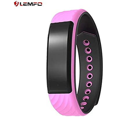 Zinniaya LEMFO W810 Smart Watch Wristband Heart Rate Sleep Monitor Waterproof Call Alert Step Calorie Distance Pedometer Smart Bracelet Estimated Price £13.01 -