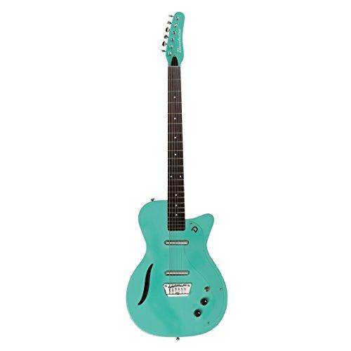 Black Baritone Guitar (Danelectro '56 Vintage Baritone Electric Guitar (Aqua))