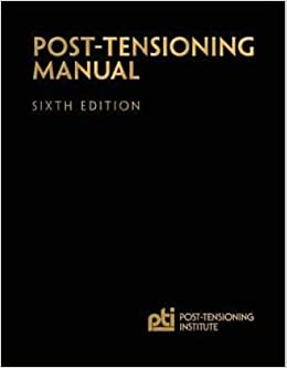 Post Tensioning Manual 6th Edition Pti Publications Amazon Com Books