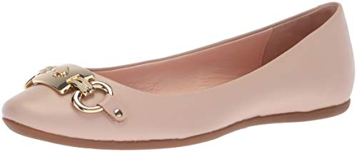Kate Spade New York Women's Phoebe Ballet Flat, Pale Pink Nappa, 8 M US