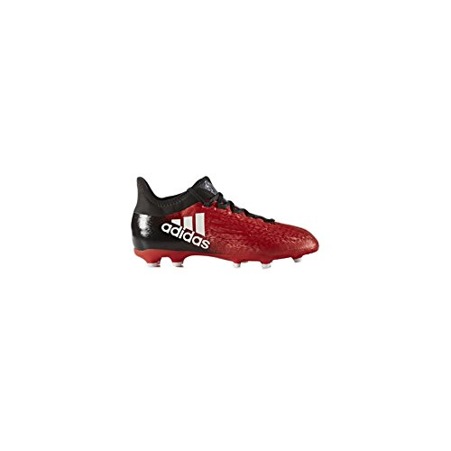 adidas X 16.1 FG Kids Soccer Cleat 2.5 Red-White-Black
