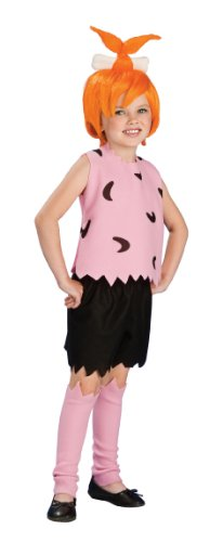 Pebbles Costume Halloween (The Flintstones Pebbles Costume - One Color - Small)