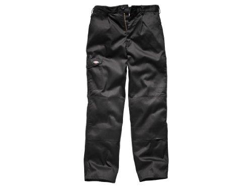 - Dickies Redhawk Super Work Trouser (Tall) / Mens Workwear (46W x Long) (Black)