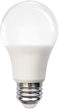 450 Lm. Snow Cone E26 7W 3000K LUX TG LA19SSE26D07-30K A19 LED Bulb 40W Equiv. - Dimmable
