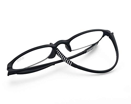 Computer Blue Light Blocking Reading Glasses(Flexible and Lightweight) Plastic Portable Readers ()