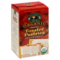 Nature's Path Organic Toaster Pastries, Frosted, Strawberry, 11 oz, (pack of 6)