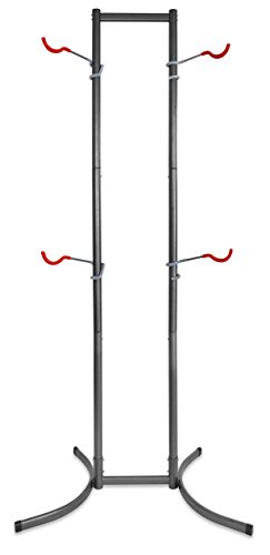 (Delta Cycle Michelangelo Canaletto Two Four Bike Gravity Stand Garage Indoor Storage Adjustable)