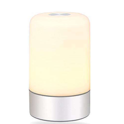GIAO Lámpara de Escritorio Minimalista de cabecera, lámpara ...