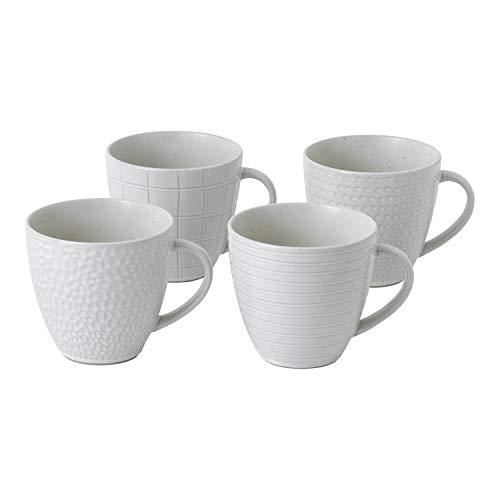 Gordon Ramsay exclusively for Royal Doulton 40034482 Maze Grill Collection Mug, White ()