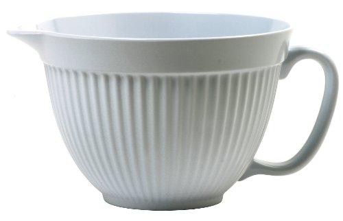Norpro Grip-EZ 3-Quart Melamine Batter Bowl, White by Norpro
