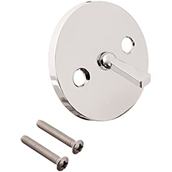 Westbrass 792z Cp Trip Lever Overflow Faceplate Polished