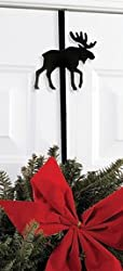 13 Inch Moose Wreath Hanger