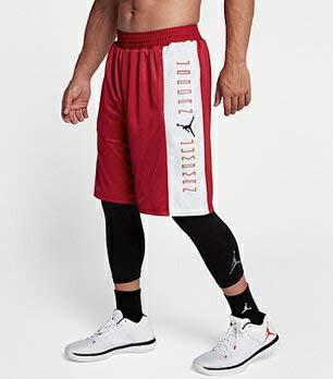 ジョーダン ナイキ メンズ Jordan Retro 11 Reversible Shorts ショーツ バスパン ハーフパンツ Gym red/white [並行輸入品] B07HMP24SR  M