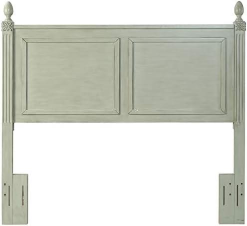 Crosley Furniture Bourdeaux Wood Headboard, Queen, Sage