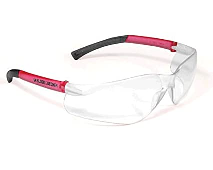 30cb0a502c Radians BD260-PC Black and Decker Women - Youth Lightwieght Pink Temples  Frameless Clear Lens