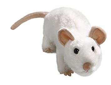 Amazon.com: Carl Dick Mouse White 6.5 inches, 17cm, Plush ...
