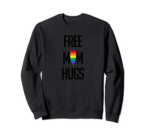 Free Mom Hugs Pride LGBT Shirt Gift Sweatshirt